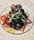 Teller mit Salat